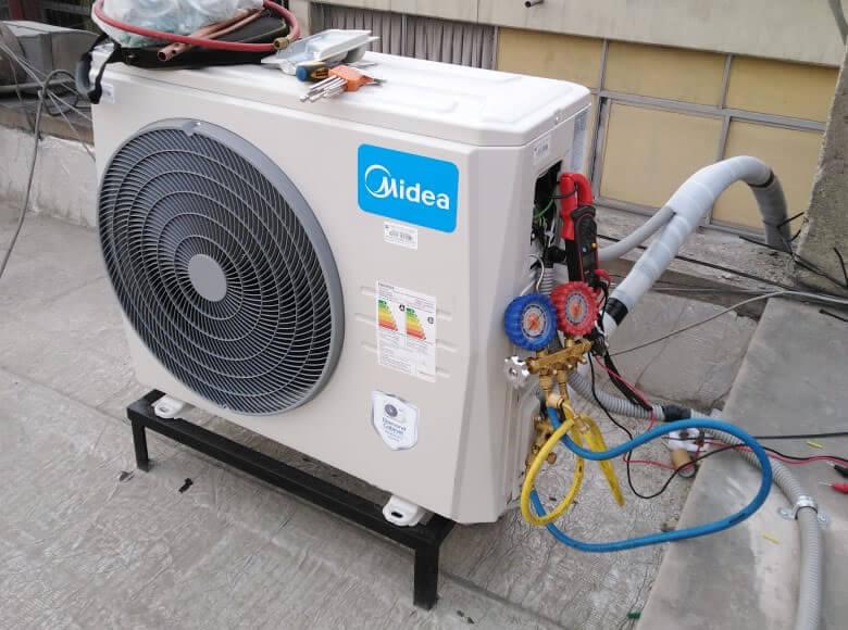 Equipo de aire acondicionado Midea